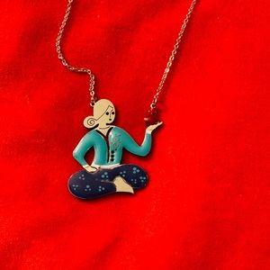Persian miniature necklace